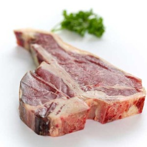 T-Bone Steak, fresh and delivered.