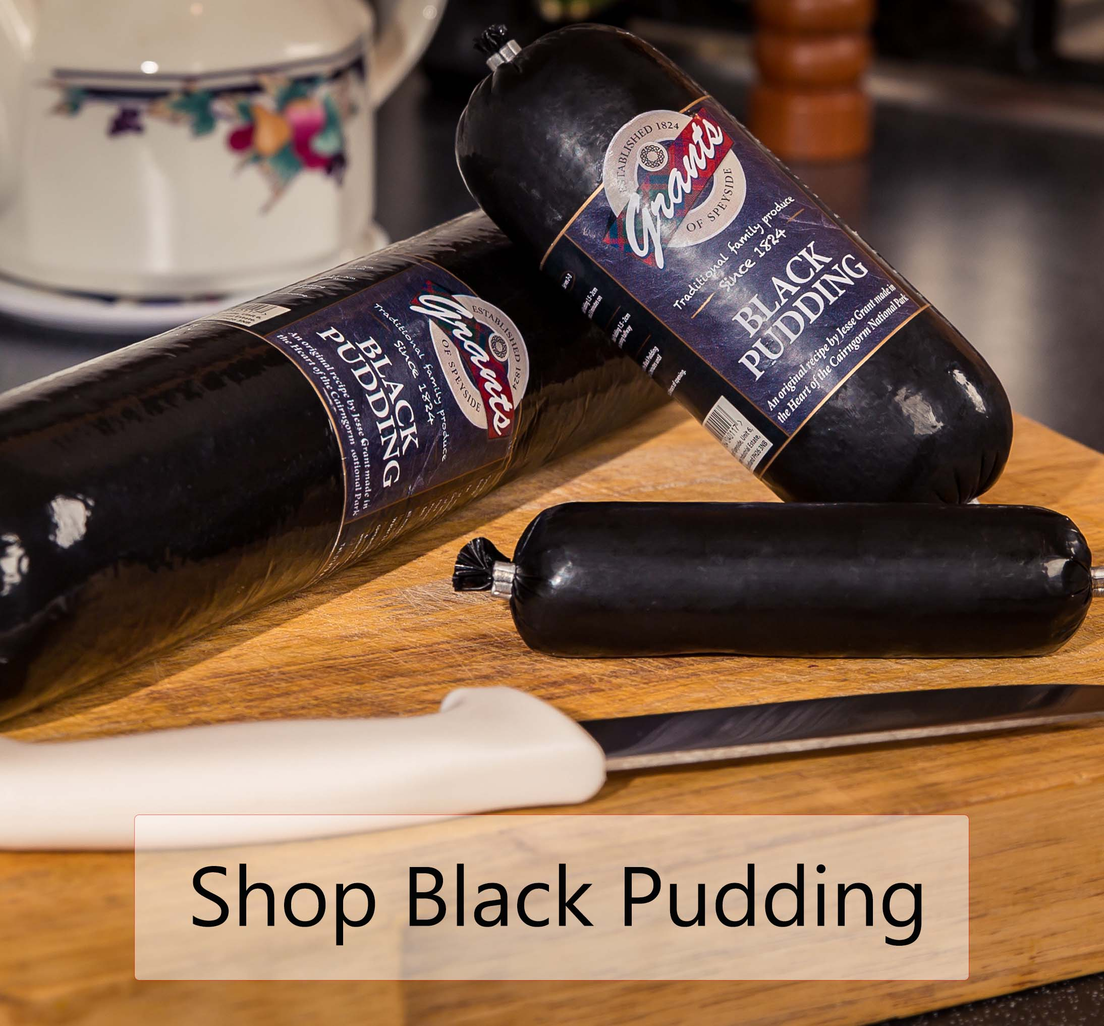 Shop Grants Black Pudding